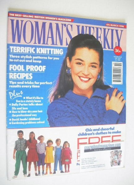 <!--1990-03-06-->Woman's Weekly magazine (6 March 1990)