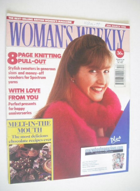<!--1990-03-20-->Woman's Weekly magazine (20 March 1990)