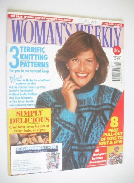 <!--1990-03-27-->Woman's Weekly magazine (27 March 1990)