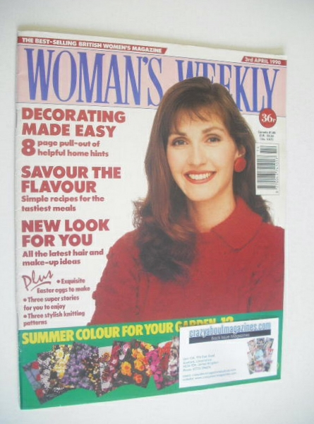 <!--1990-04-03-->Woman's Weekly magazine (3 April 1990)