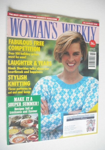 <!--1990-08-07-->Woman's Weekly magazine (7 August 1990)