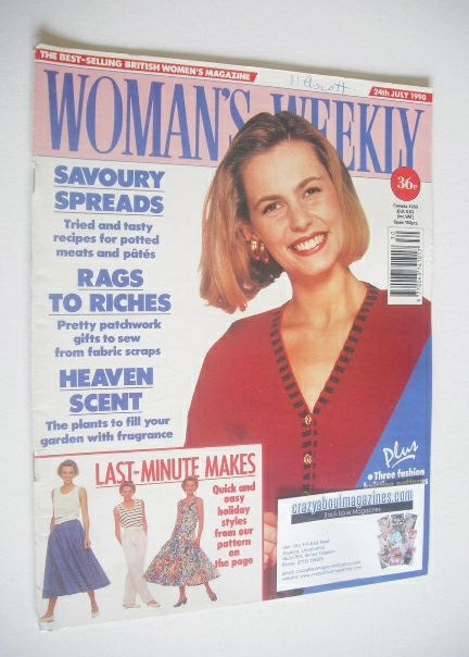 <!--1990-07-24-->Woman's Weekly magazine (24 July 1990)