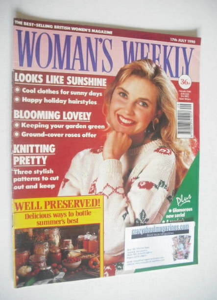<!--1990-07-17-->Woman's Weekly magazine (17 July 1990)