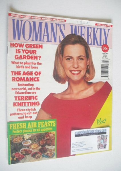 <!--1990-07-10-->Woman's Weekly magazine (10 July 1990)