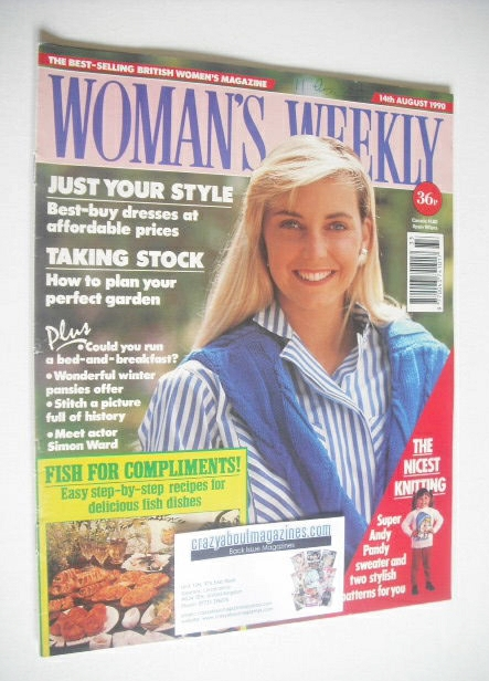 <!--1990-08-14-->Woman's Weekly magazine (14 August 1990)