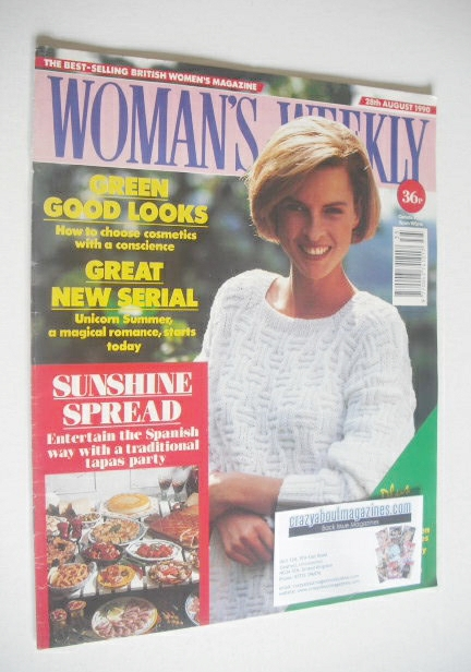 <!--1990-08-28-->Woman's Weekly magazine (28 August 1990)