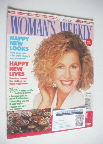 <!--1990-08-21-->Woman's Weekly magazine (21 August 1990)