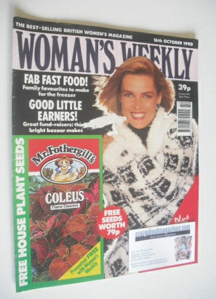 <!--1990-10-16-->Woman's Weekly magazine (16 October 1990)