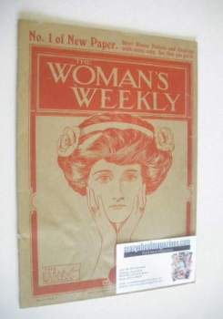 Woman's Weekly magazine (4 November 1911 - 1st Issue)