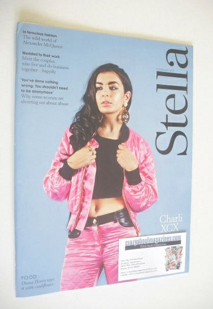 <!--2015-02-15-->Stella magazine - Charli XCX cover (15 February 2015)