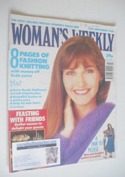 <!--1990-11-20-->Woman's Weekly magazine (20 November 1990)