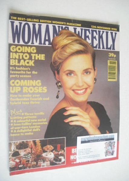 <!--1990-11-13-->Woman's Weekly magazine (13 November 1990)