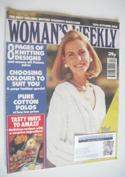 <!--1990-10-30-->Woman's Weekly magazine (30 October 1990)