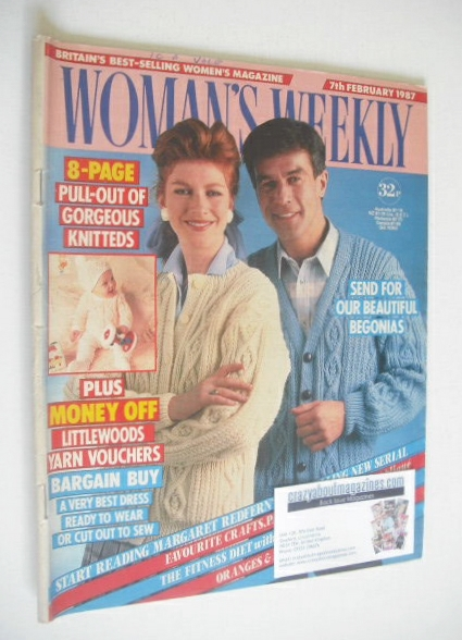 <!--1987-02-07-->Woman's Weekly magazine (7 February 1987)