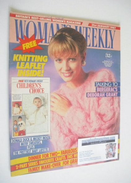 <!--1987-01-31-->Woman's Weekly magazine (31 January 1987)