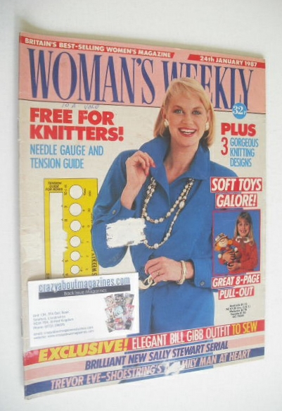 <!--1987-01-24-->Woman's Weekly magazine (24 January 1987)