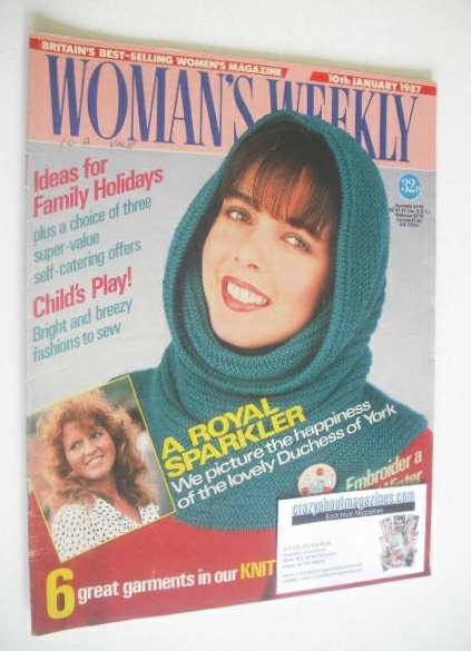 <!--1987-01-10-->Woman's Weekly magazine (10 January 1987)