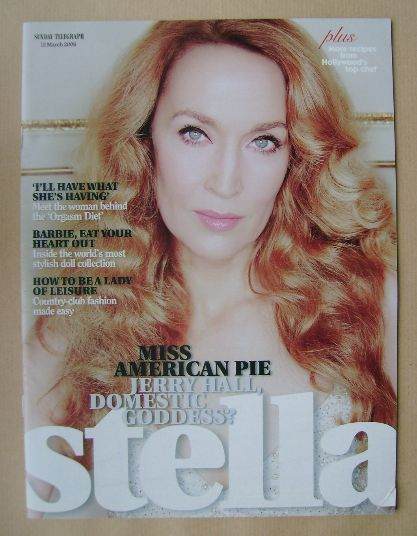 <!--2006-03-12-->Stella magazine - Jerry Hall cover (12 March 2006)