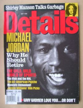 Details magazine - May 1998 - Michael Jordan cover