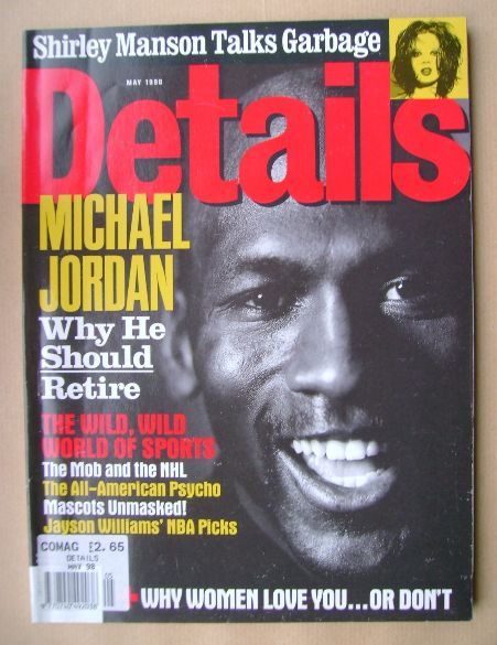 <!--1998-05-->Details magazine - May 1998 - Michael Jordan cover