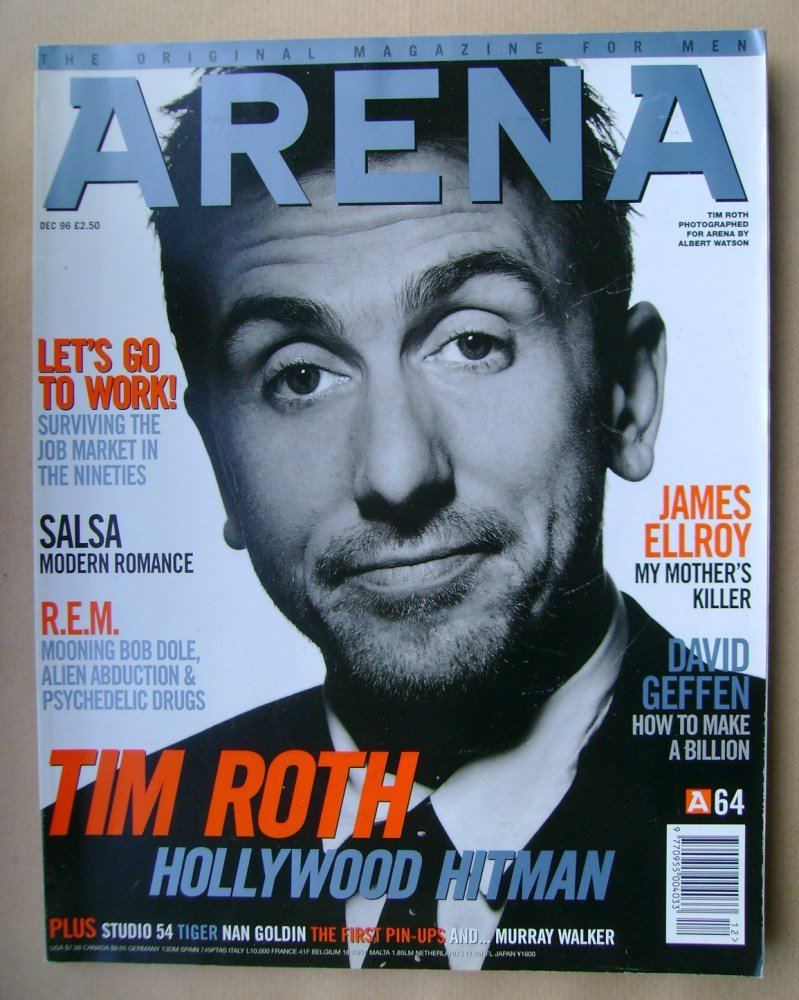 <!--1996-12-->Arena magazine - December 1996 - Tim Roth cover