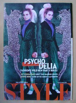 Style magazine - Psycho Delia cover (9 December 2012)