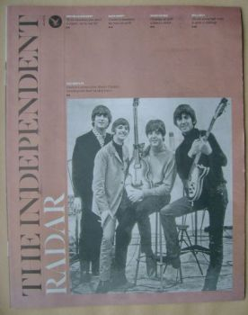 The Independent Radar magazine - The Beatles cover (20 September 2014)