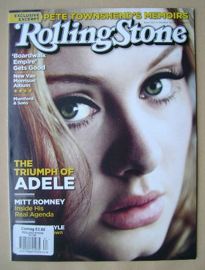 Rolling Stone magazine - Adele cover (11 October 2012)