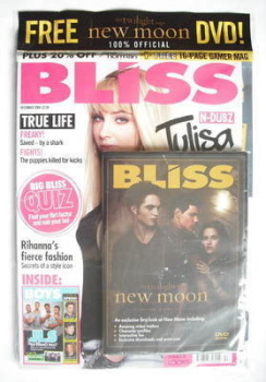 Bliss magazine - December 2009 - Tulisa Contostavlos cover
