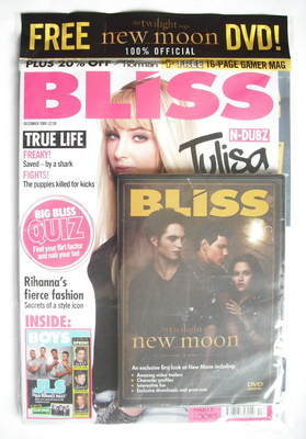 <!--2009-12-->Bliss magazine - December 2009 - Tulisa Contostavlos cover