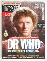 <!--2009-12-10-->Time Out magazine - Colin Baker cover (10-16 December 2009)