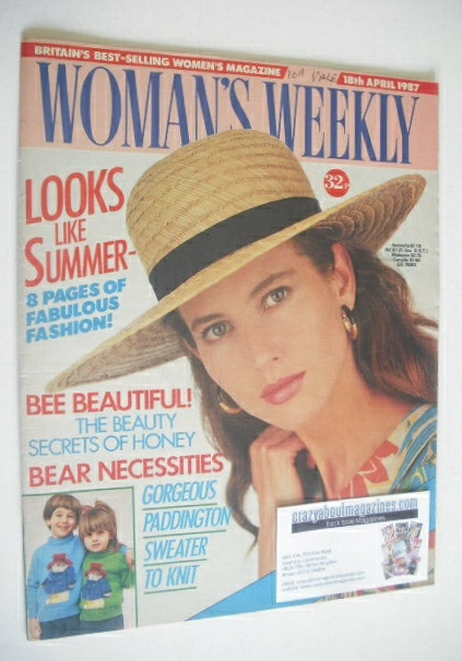 <!--1987-04-18-->Woman's Weekly magazine (18 April 1987)