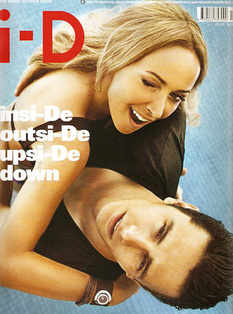 i-D magazine - Frida Giannini and James Franco cover (Fall 2009)