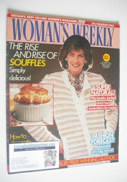 <!--1987-03-21-->Woman's Weekly magazine (21 March 1987)