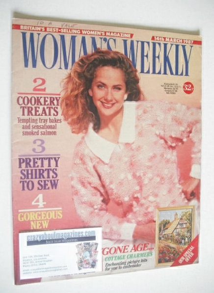<!--1987-03-14-->Woman's Weekly magazine (14 March 1987)