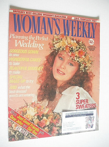 <!--1987-02-28-->Woman's Weekly magazine (28 February 1987)