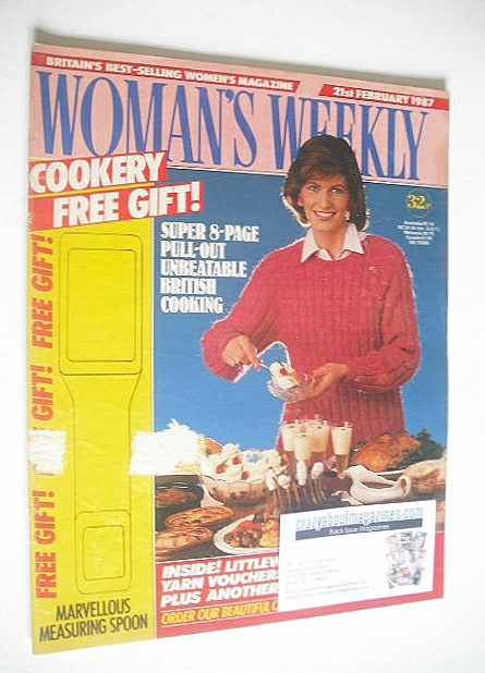 <!--1987-02-21-->Woman's Weekly magazine (21 February 1987)