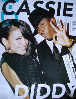 <!--2006-12-->i-D magazine - Cassie and P. Diddy cover (December 2006/Janua