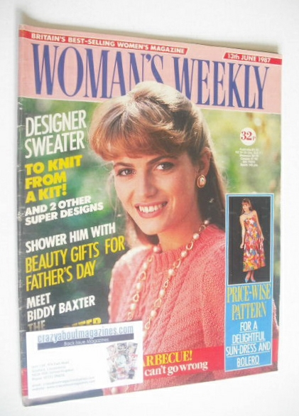 <!--1987-06-13-->Woman's Weekly magazine (13 June 1987)