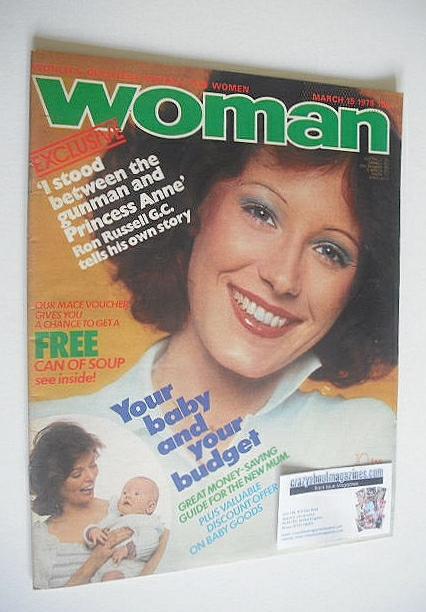 <!--1975-03-15-->Woman magazine (15 March 1975)
