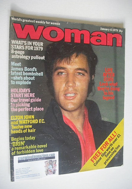 <!--1979-01-06-->Woman magazine - Elvis Presley cover (6 January 1979)