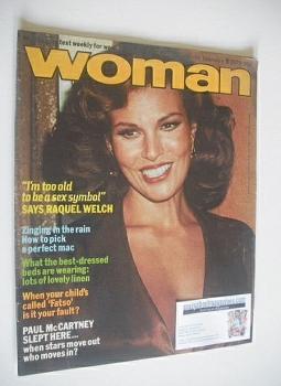 Woman magazine - Raquel Welch cover (17-24 February 1979)