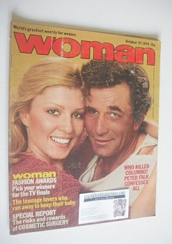 Woman magazine - Peter Falk cover (27 October 1979)