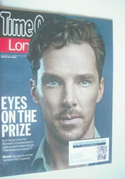 Time Out magazine - Benedict Cumberbatch cover (30 September - 6 October 2014)
