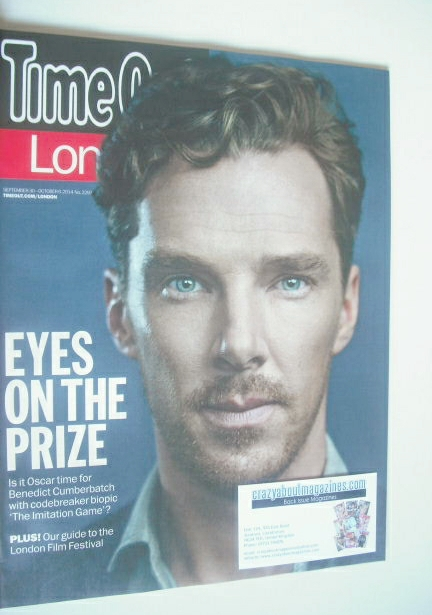 <!--2014-09-30-->Time Out magazine - Benedict Cumberbatch cover (30 Septemb