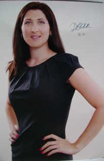 Debra Barr autograph - Former contestant on The Apprentice