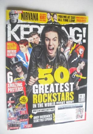 <!--2015-02-28-->Kerrang magazine - 50 Greatest Rock Stars In The World Rig
