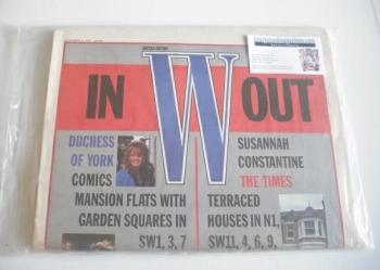 W magazine (10 December 1987)