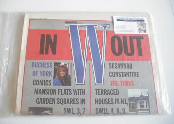 <!--1987-12-10-->W magazine (10 December 1987)