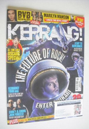<!--2015-02-21-->Kerrang magazine - Enter Shikari cover (21 February 2015 -